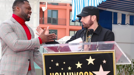 50 Cent bekommt Stern in Hollywood