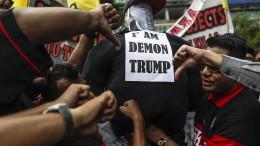 Weltweite Kritik an Trump