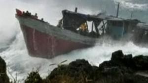 Womöglich 60 Tote bei Flüchtlingsschiff-Unglück