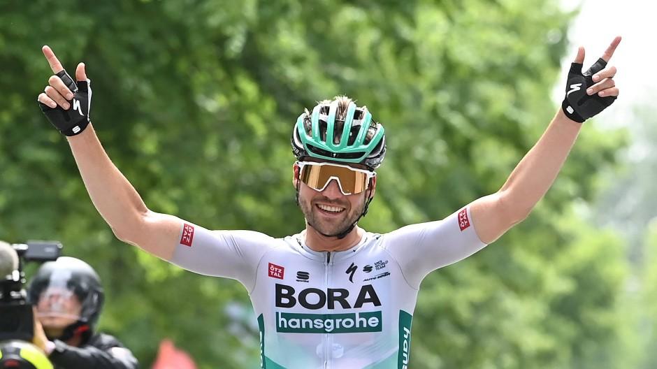 Glaubt an seine Chance auf den Schlusskilometern des olympischen Straßenrennens: Maximilian Schachmann.
