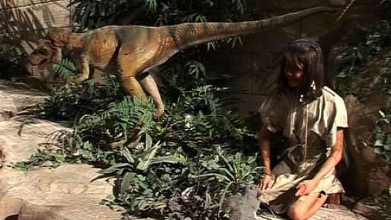 Adam und Eva im Jurassic Park