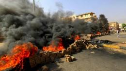 Militär in Sudan verhängt Ausnahmezustand