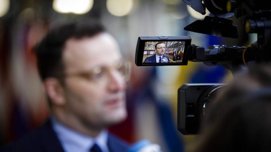 Ambitioniert, nicht nur in seinem Ministerium: Gesundheitsminister Jens Spahn (CDU)