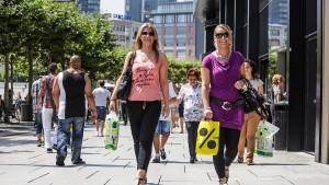 Unterwegs auf Deutschlands meistbesuchter Einkaufsmeile