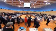 Erste Arbeitssitzung des G20-Gipfels