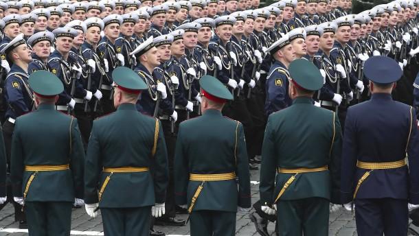 Russland feiert Sieg über Nazi-Deutschland