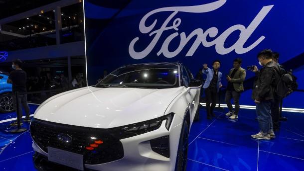 Bei Ford fällt die Hälfte der Produktion wegen Chipmangels aus