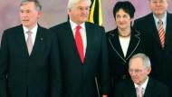 Köhler verabschiedet alte Regierung