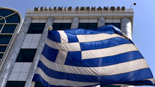 Griechischer Finanzmarkt leidet unter der Pandemie