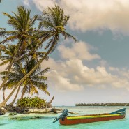 Die Insel Pelicano gehört zu Panama