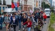Teilnehmer einer Querdenker-Demonstration im August in Berlin