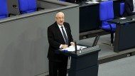 Israels Präsident Reuven Rivlin spricht am Mittwoch im Deutschen Bundestag.