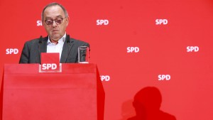 """""""Sprechen mit allen demokratischen Parteien"""""""