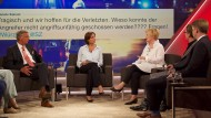 Sandra Maischberger und ihre Gäste