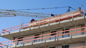 Baupreise steigen weiter