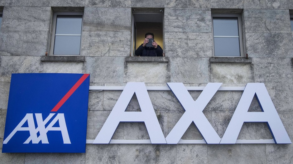 Die französische Axa hatte von 2015 bis 2017 eine moderate relative Stärke im europäischen Versicherungssektor inne.