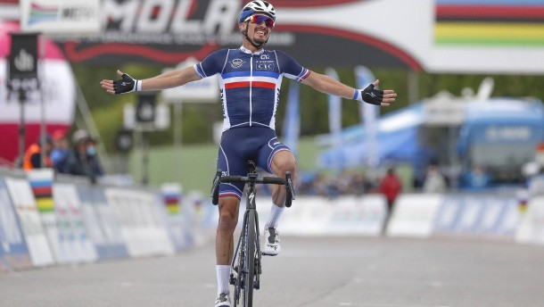 Alaphilippe wird Weltmeister in Imola