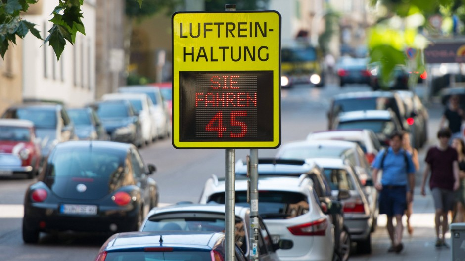 Dicke Luft in Stuttgart