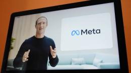 """Aus Facebook wird """"Meta"""""""