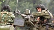Georgien verkündet Teilrückzug seiner Truppen
