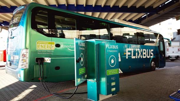 Flixbus startet mit erstem Elektro-Fernbus
