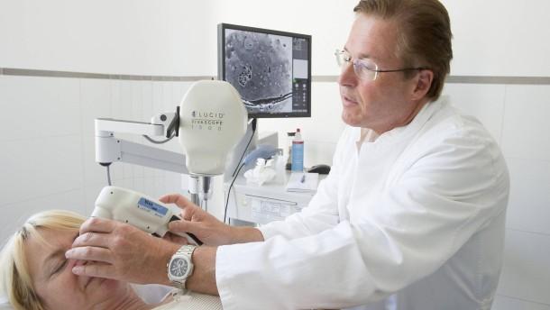Mit dem Laser gegen Hautkrebs und Schuppenflechte