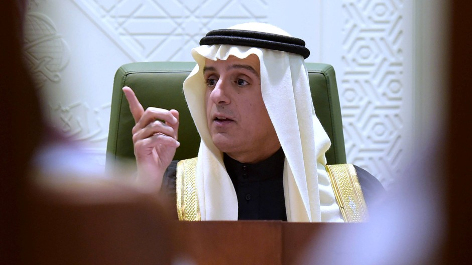 Saudi-Arabiens Außenminister Adel al-Dschubair