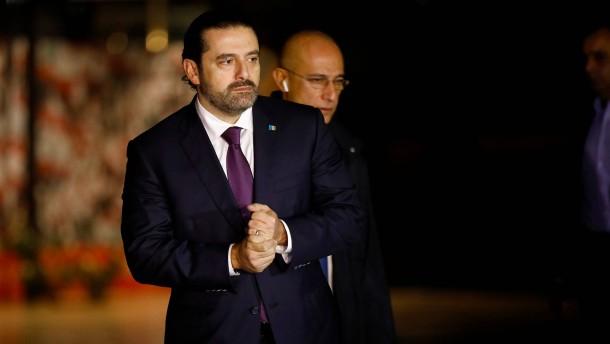 Hariri zurück im Libanon