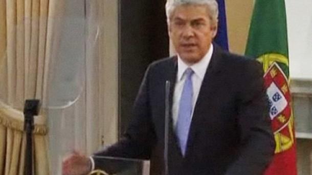 Ministerpräsident Sócrates tritt zurück