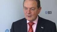 BDI-Präsident Thumann tritt nicht mehr an