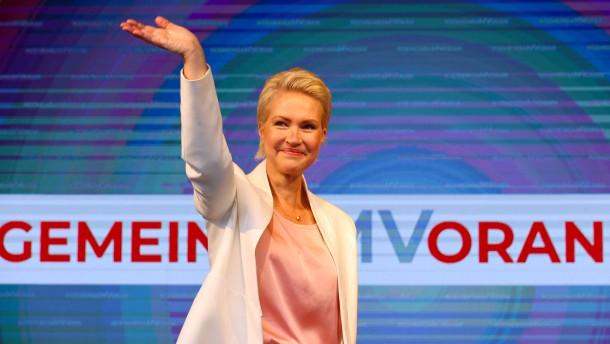 Ein Triumph für die SPD und Schwesig