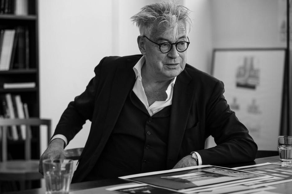 Der Schweizer Architekt Max Dudler
