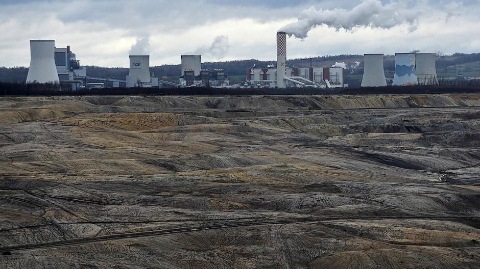 Kohleverstromung in Bogatynia: Polen tut sich besonders schwer, den Einsatz von Kohle zu verringern.