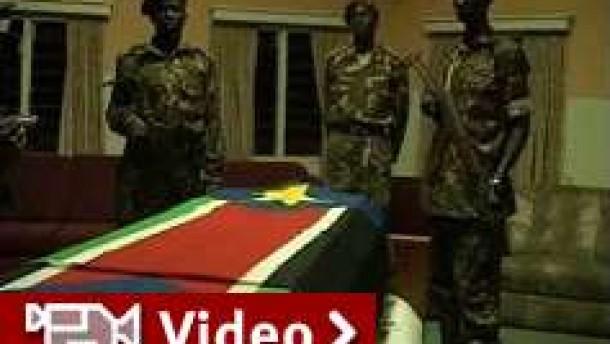Weiter Unruhen nach Garangs Tod