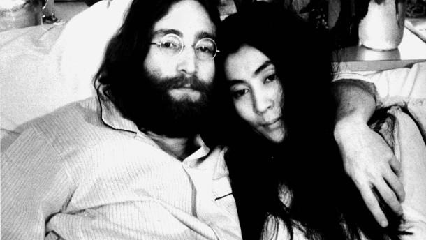 Bilder aus dem Leben von John Lennon