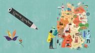 F.A.S.-Osterrätsel: Von Land zu Land