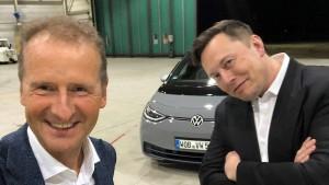 Wie Diess fast Tesla-Chef geworden wäre