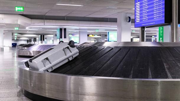 Risiko Gepäckausgabe