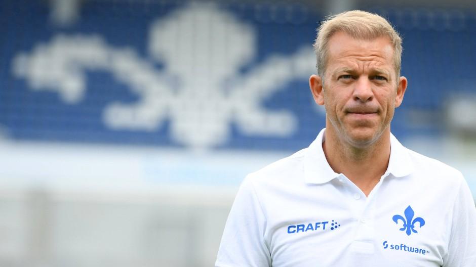 Konzentriert: Markus Anfang will die Spielweise des SV Darmstadt 98 verändern.