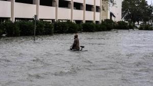 """Ein Todesopfer durch Hurrikan """"Sally"""""""