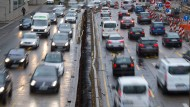 Feinstaubalarm: In Stuttgart dürfen ab dem kommenden Jahr viele Autos nicht mehr fahren.