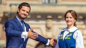 Schwedische Prinzessin Sofia ist wieder schwanger