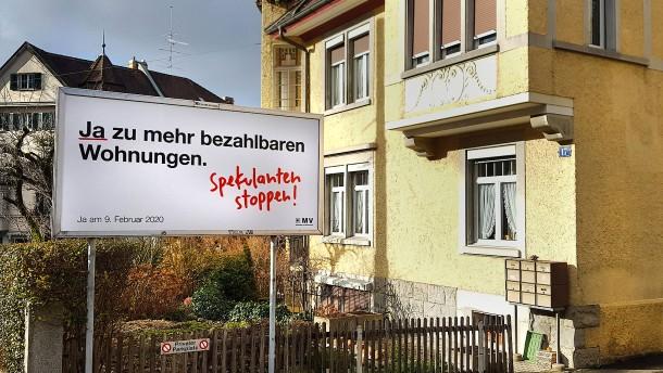 Trügerische Hoffnung für Schweizer Mieter