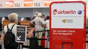Rangeln der Bieter verzögert Air-Berlin-Verkauf