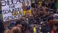 Unkommentierte Bilder der Proteste