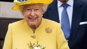 Königliche Impfung für die Queen