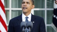 Obama überrascht von der Osloer Entscheidung