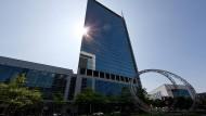 Platz an der Sonne: Im Hochhaus Pollux sollen Fintechs, Banken und Investoren zusammenfinden.