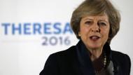 Große Ziele: Die neue britische Premierministerin Theresa May plant umfassende Wirtschaftsreformen.