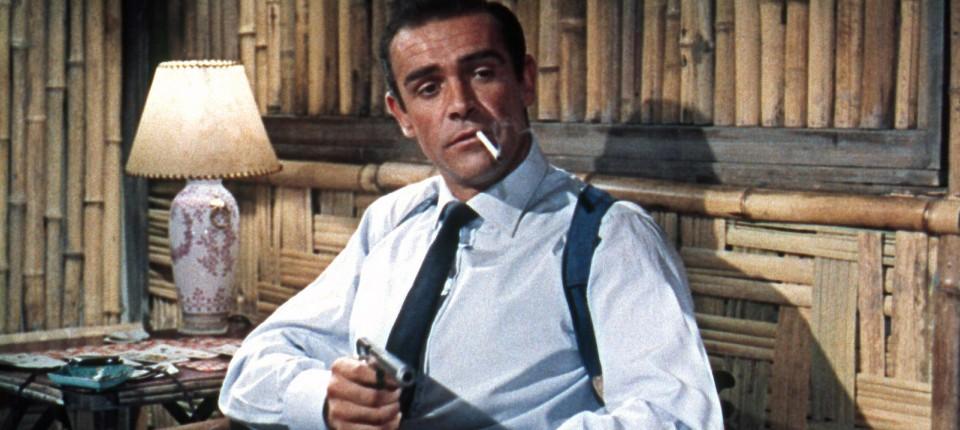 Connery 1962 als James Bond